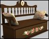 Oak Romance Bench