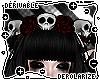 o|Skull/Rose Wreath F/M