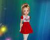 KIDS Red Christmas Dress