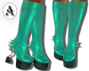 Ocean Spiked boots