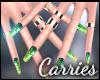 C St  Patricks Nails