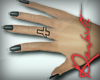 :R: Nails w cross tat