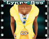 Minion Hoody Yellow