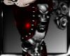 GOTHIC SKULL ROCKER RED