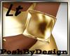 Cuff Bracelet Gold Lt