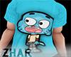 Gumball Blue Shirt