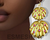 É. Shell Earrings P