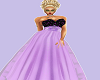 Lavender Ball Gown