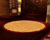 Gold and Red Rug