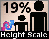 Height Scaler 19% F A