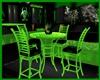 `A` Green Glow