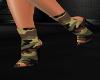 Glitter Camo Boots
