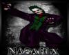 (N)*Joker Cane Halloween
