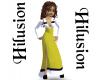 Dress HIlusion g