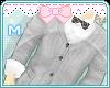 MR-kawaii  style Gray -M