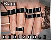 *Kc*Black Band rings L
