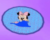 Blue Bby Minnie Rug 1