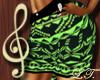 Aztec Skirt GRN BMXXL