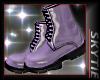 Purple Rainboots