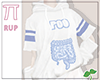 |Pi| Poo Blue Sweater