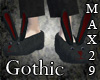 Gothic Bunny Slippers