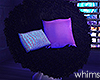 City Glow Fur Chair