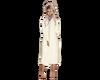 White Grad gown