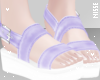 n  Sandals Lilac
