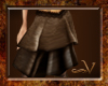 ~V Brown Suede Skirt