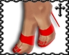 * Red Strap Heels V1