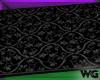 Gothic Pattern Cushy Rug