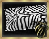 TC~ Zebra Cuddle Pillow