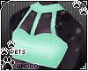 [Pets] Halter | aqua