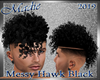 !b Messy Hawk Black
