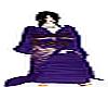 Purple Sequence Kimono m