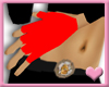 ~ Red Fingerless Gloves
