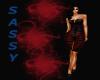(DD) Sassy dres red