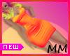 New Orange Lila Dress