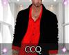 [C] Shirt+Coat-Red