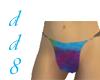 Tie-Dyed Bikini Bottom