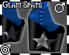 *m Glam Spats Blue M