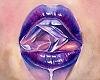 Purple Lippy Bubbles