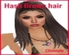Hash brown hair