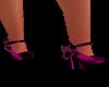 Pink Chain Heels