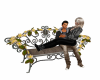 Lovers Flower Bench