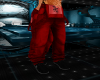 DC red male overalls