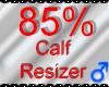 *M* Calf Resizer 85%