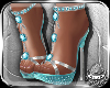 ! Barbe Heels Blue