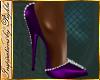 I~Diamond Pumps*Purple
