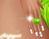 Ring Heart Animate Green